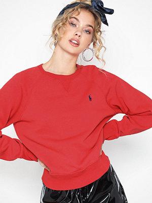 Polo Ralph Lauren Ls Ragln Po-Long Sleeve-Knit Red