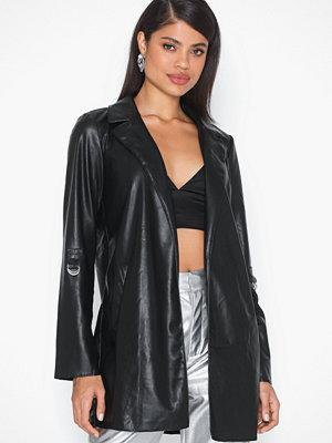 Only Onlsophia Faux Leather Blazer Coat