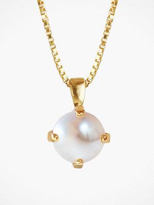 Caroline Svedbom halsband Classic Petite Necklace Pearl