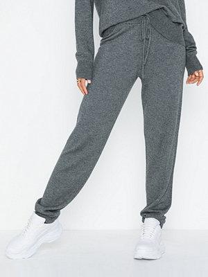 Y.a.s grå byxor Yasmabel Knit Pant Icons