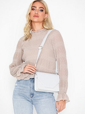 Unlimit vit axelväska Shoulder Bag Rosemary