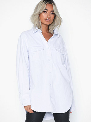 Missguided Oversized Denim Shirt
