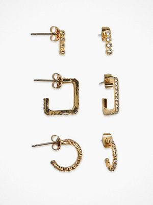 Pieces örhängen Pcninkie Hoop Earrings 3-Pack D2D