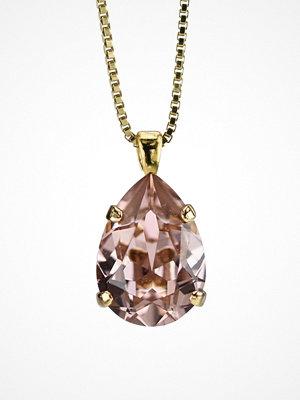 Caroline Svedbom halsband Mini Drop Necklace Rose
