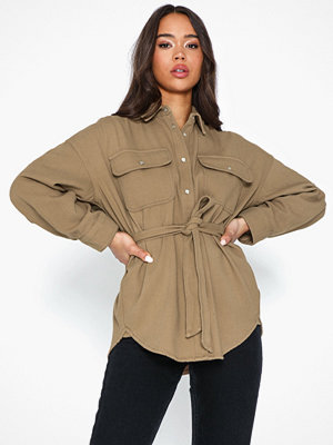 co'couture Khaki Denim Shirt