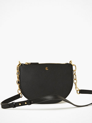 Lauren Ralph Lauren svart axelväska Sutton 22 Crossbody Medium
