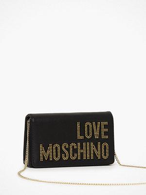 Love Moschino svart axelväska med tryck JC4091PP1ALO1