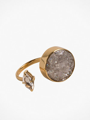 Cornelia Webb Crystalised Open Ring L