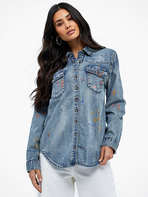 One Teaspoon New Vintage Denim Shirt