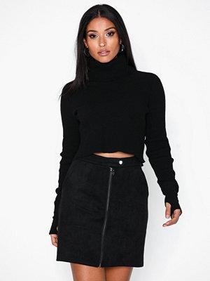 Jacqueline de Yong Jdyreeba Faux Suede Zip Skirt Jrs