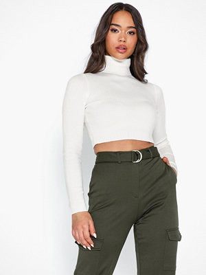 Missguided Basic Roll Neck Knitted Top