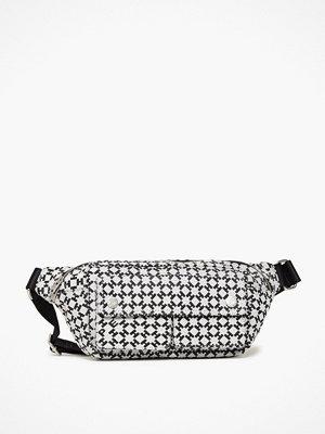 Hope svart mönstrad axelväska H Waist Bag