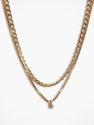 Cornelia Webb halsband Warped Double Necklace