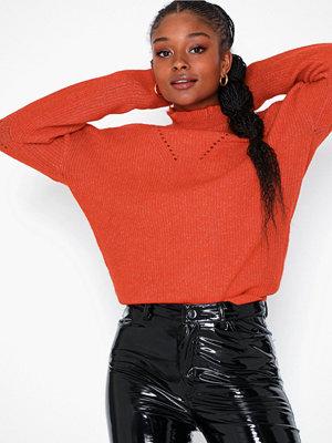 Selected Femme Slfinga Ls Knit Frill-Neck B