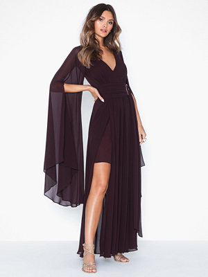 Forever New Aliana Maxi Cape Dress
