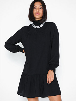 Only Onlrubia L/S Smock Dress Wvn