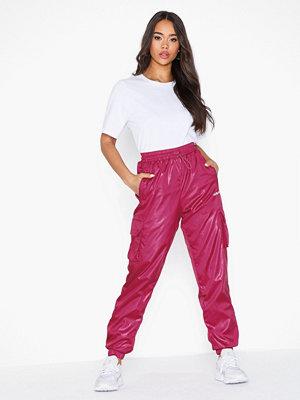 Adidas Originals rosa byxor Shiny Pant