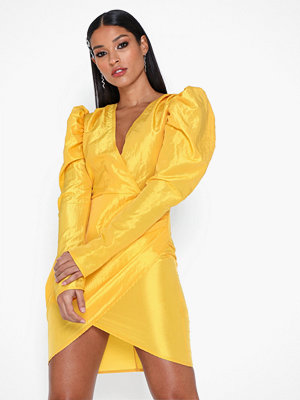 NLY One Puff Wrap Dress