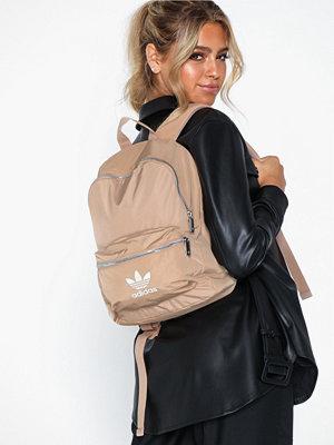Adidas Originals beige ryggsäck Nylon W Bp