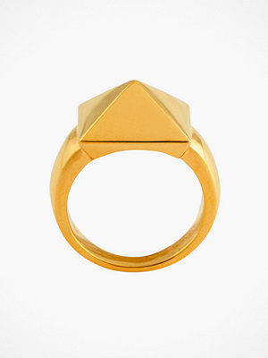 SOPHIE By SOPHIE Pyramid one stud ring