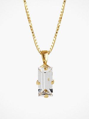 Caroline Svedbom halsband Baguette Necklace Crystal