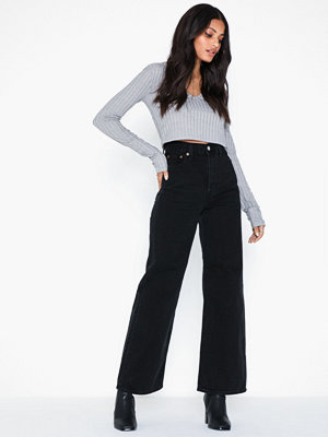 Levi's Ribcage Wide Leg Black Book Rc