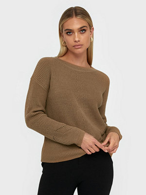 Pieces Pckarie Ls O-Neck Knit Noos