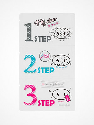 Ansikte - Holika Holika Pig Clear Blackhead 3-Step Kit (No Water)