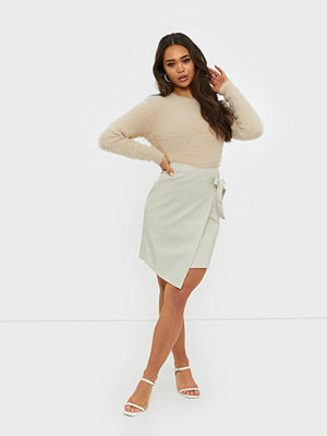 Ivyrevel Overlap Pu Skirt
