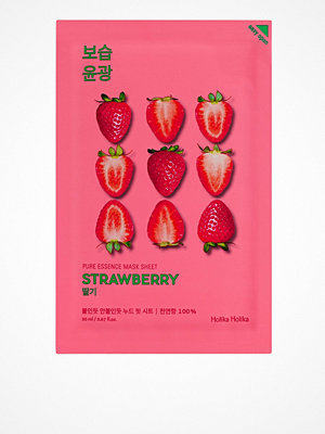 Ansikte - Holika Holika Pure Essence Sheet Mask Strawberry