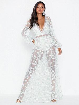 For Love & Lemons Eclair Maxi Dress