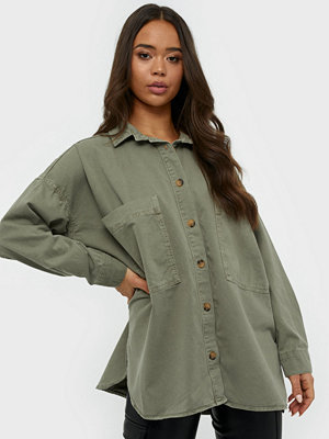 Gina Tricot Oversized Denim Shirt