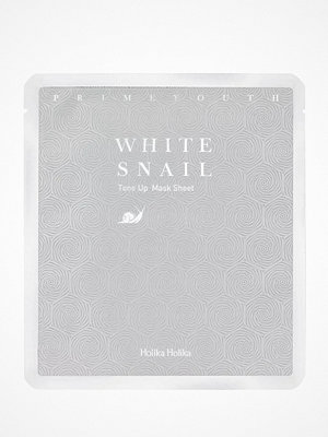 Ansikte - Holika Holika Prime Youth White Snail Tone Up Sheet Mask