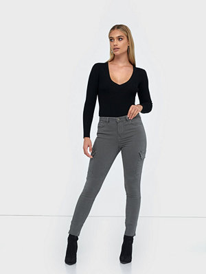 Five Units Kate 642 Cargo, Gunmetal Prim, Jeans