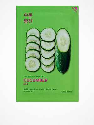 Ansikte - Holika Holika Pure Essence Sheet Mask Cucumber