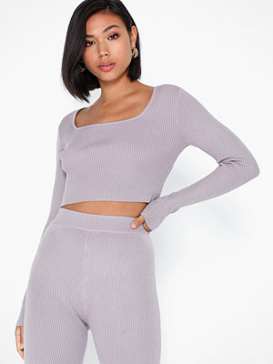 Missguided Square Neck Crop Top Co-ord