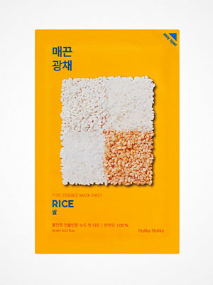 Ansikte - Holika Holika Pure Essence Sheet Mask Rice