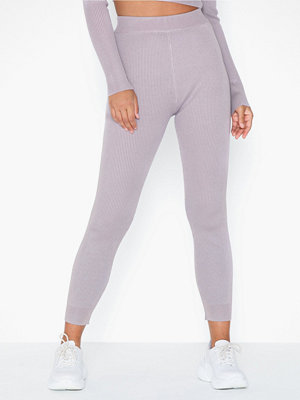 Missguided Ribbed Legging Co-ord
