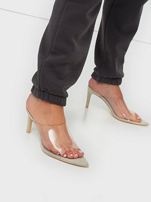 Pumps & klackskor - NLY Shoes Pointy Transparent Mule