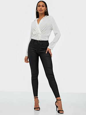 River Island Molly Mid Rise Coated