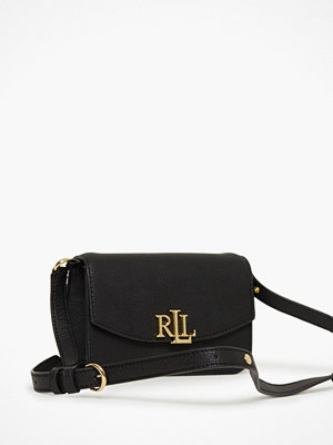 Lauren Ralph Lauren svart axelväska Madison 18 Crossbody Small