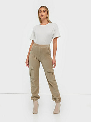 NLY Trend omönstrade byxor Cargo Cord Pants