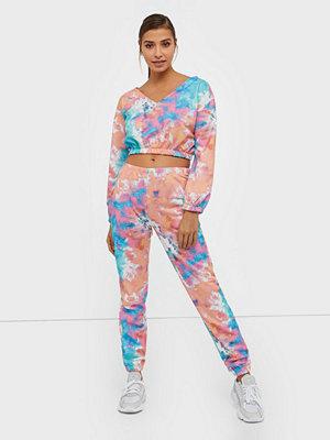 NLY Trend mönstrade byxor Tie Dye Cozy Sweat Pants