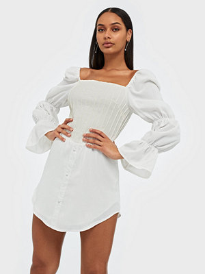 Missguided Corset Bodice Milkmaid Dress