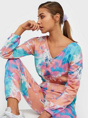 NLY Trend Tie Dye V Neck Sweat