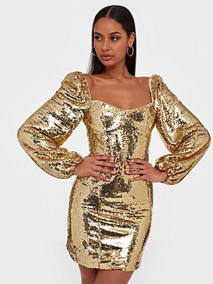 Glamorous Gold Sequin Dress