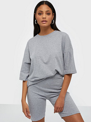 Missguided Co Ord T-Shirt Cycling Short Set