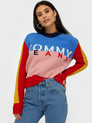 Tommy Jeans Tjw Multicolor Logo Sweater