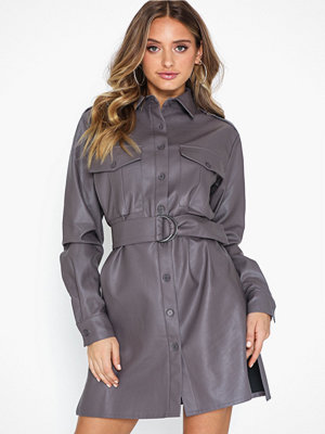 NLY Trend Oversize PU Dress
