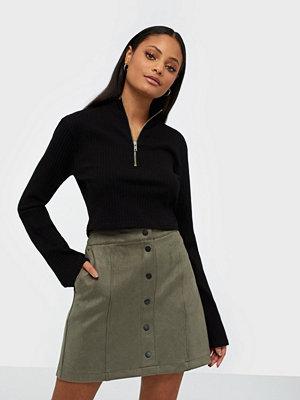 Vero Moda Vmdonnaray Fauxsuede Short Skirt No
